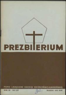 Prezbiterium. 1975 nr 3