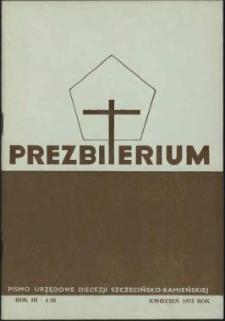 Prezbiterium. 1975 nr 4
