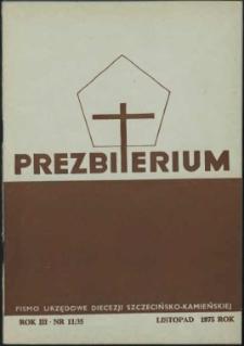 Prezbiterium. 1975 nr 11