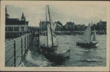 Seebad Swinemünde, An der Seebrücke