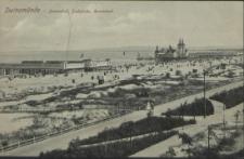 Swinemünde, Damenbad, Seebrücke, Herrenbad