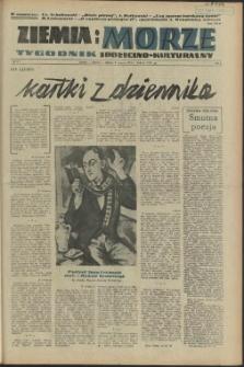 Ziemia i Morze : tygodnik społeczno-kulturalny. R.1, 1956 nr 17