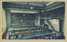 Stadt- und Volksbücherei Stettin, Lesesaal der Stadtbücherei