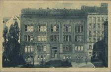 Stadt- und Volksbücherei Stettin, Hauptgebäude, Grüne Schanze 8