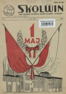 Skolwin : pismo pracowników Szczecińskich Zakładów Celulozowo-Papierniczych. R.1, 1955 nr 3/4