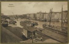 Stettin, Hafenpartie