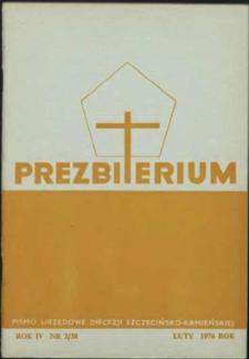 Prezbiterium. 1976 nr 2