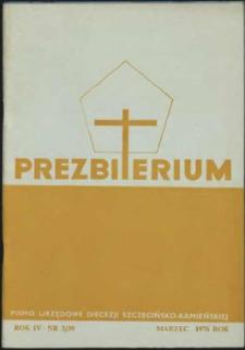 Prezbiterium. 1976 nr 3