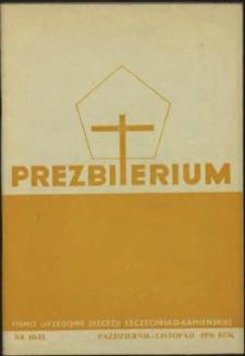 Prezbiterium. 1976 nr 10-11