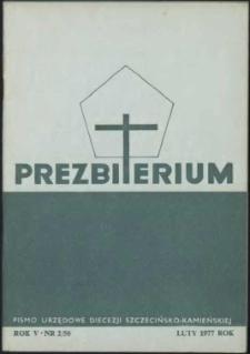 Prezbiterium. 1977 nr 2