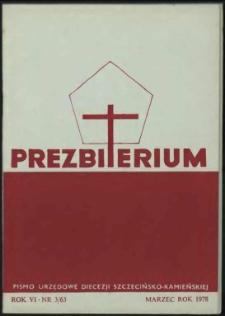 Prezbiterium. 1978 nr 3