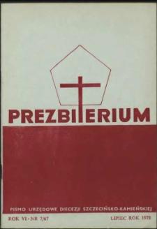 Prezbiterium. 1978 nr 7