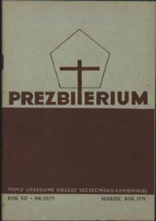Prezbiterium. 1979 nr 3