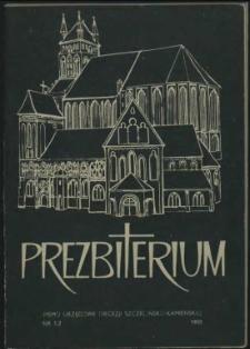 Prezbiterium. 1980 nr 1-2