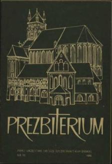 Prezbiterium. 1980 nr 10