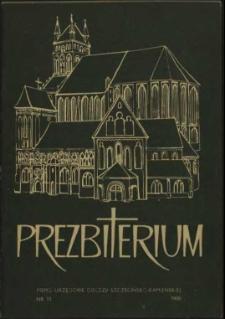 Prezbiterium. 1980 nr 11