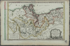 Chorographie Septentrionale du Cercle De Haute Saxe, d'après G. Walck, Hubner, &c. dirigée, pour les premieres études