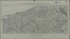 Karte der Umgebung von Kolberg und Köslin