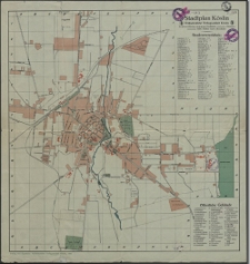 Stadtplan Köslin