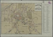 Situations-Plan der Stadt Köslin