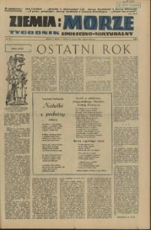 Ziemia i Morze : tygodnik społeczno-kulturalny. R.1, 1956 nr 19