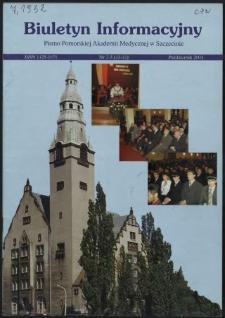 Biuletyn Informacyjny : Pomorska Akademia Medyczna w Szczecinie. Nr 2-3 (43-44), Paździrnik 2004