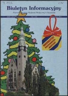 Biuletyn Informacyjny : Pomorska Akademia Medyczna w Szczecinie. Nr 4 (45), Grudzień 2004
