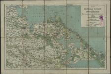 Karte des Kreises Greifswald und der Insel Usedom