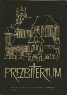 Prezbiterium. 1981 nr 10