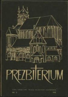 Prezbiterium. 1982 nr 3