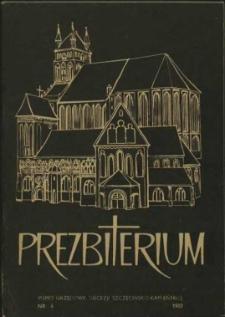 Prezbiterium. 1982 nr 4