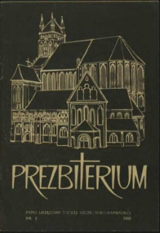 Prezbiterium. 1982 nr 5