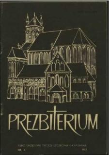Prezbiterium. 1983 nr 3
