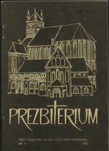Prezbiterium. 1983 nr 4