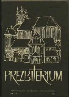 Prezbiterium. 1983 nr 7-8