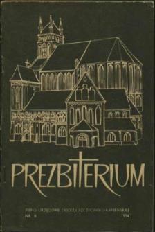 Prezbiterium. 1984 nr 6