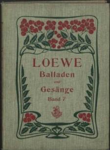 Carl Loewes Werke. Bd 7 Die Polnische Balladen