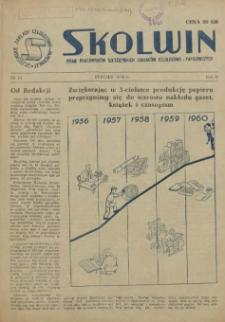 Skolwin : pismo pracowników Szczecińskich Zakładów Celulozowo-Papierniczych. R.2, 1956 nr 12