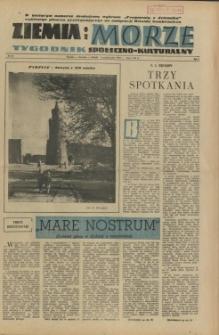 Ziemia i Morze : tygodnik społeczno-kulturalny. R.1, 1956 nr 21