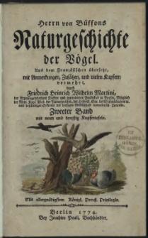 Naturgeschichte der Vögel. Bd. 2