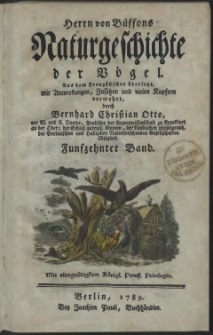 Naturgeschichte der Vögel. Bd. 15