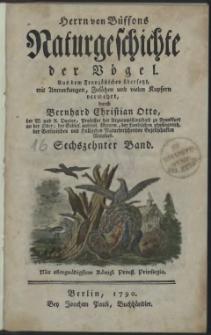 Naturgeschichte der Vögel. Bd. 16
