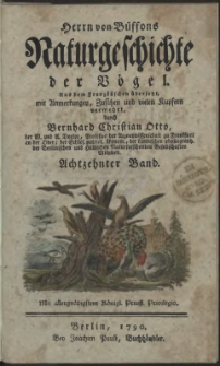 Naturgeschichte der Vögel. Bd. 18